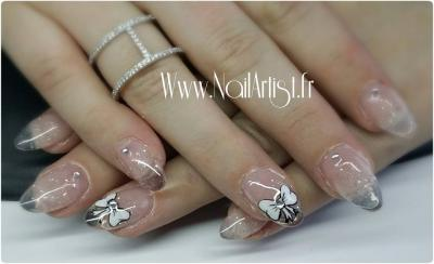 Ongles transparent